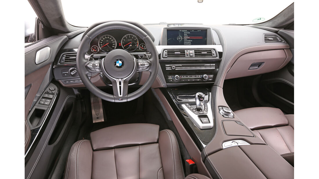 BMW M6 Gran Coupé, Cockpit