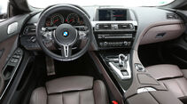 BMW M6 Gran Coupé, Cockpit, Lenkrad