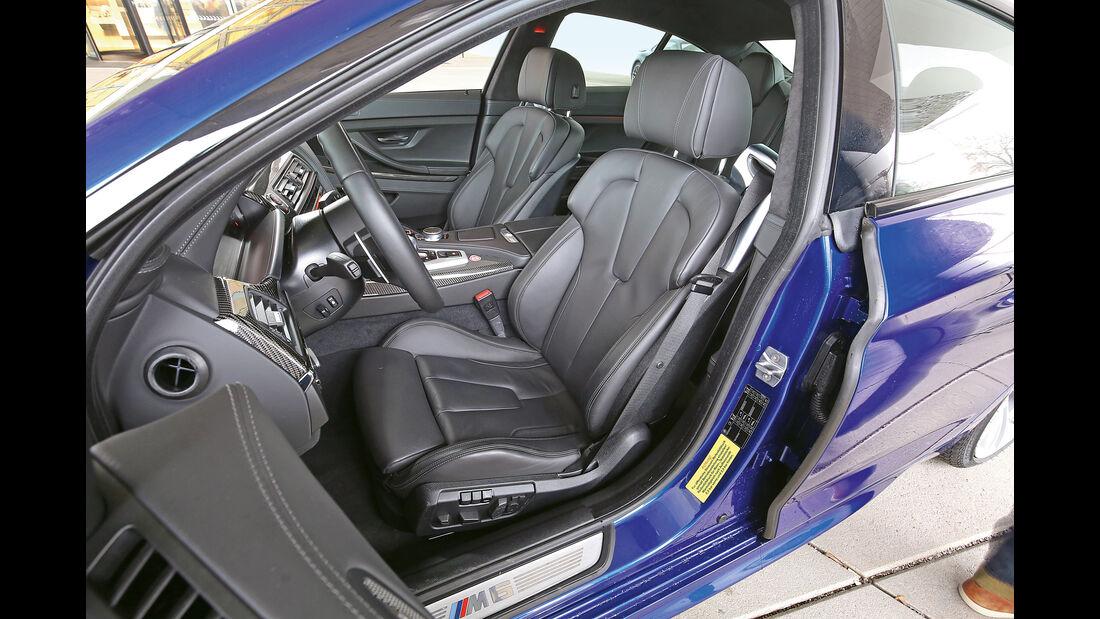 BMW M6 Gran Coupé Competition, Fahrersitz