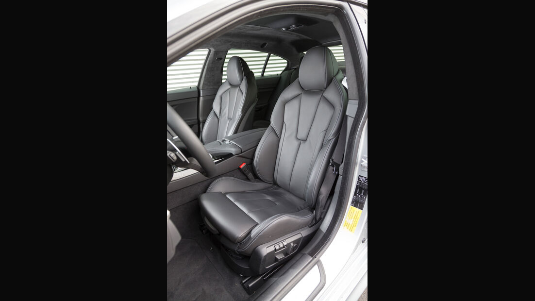 BMW M6 Gran Coupé, Fahrersitz