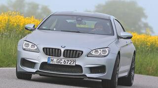 BMW M6 Gran Coupé, Frontansicht