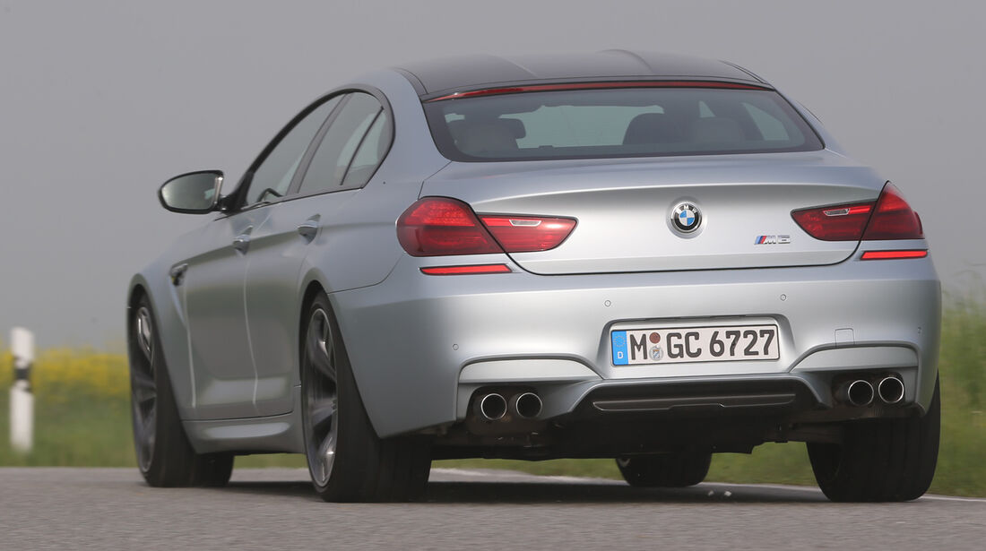 BMW M6 Gran Coupé, Heckansicht