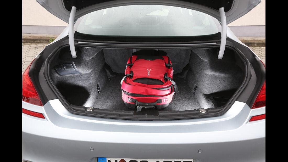 BMW M6 Gran Coupé, Kofferraum
