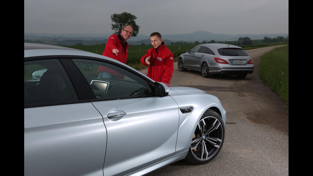 BMW M6 Gran Coupé, Mercedes CLS 63 AMG Shooting Brake,