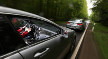 BMW M6 Gran Coupé, Mercedes CLS 63 AMG Shooting Brake, Heckansicht