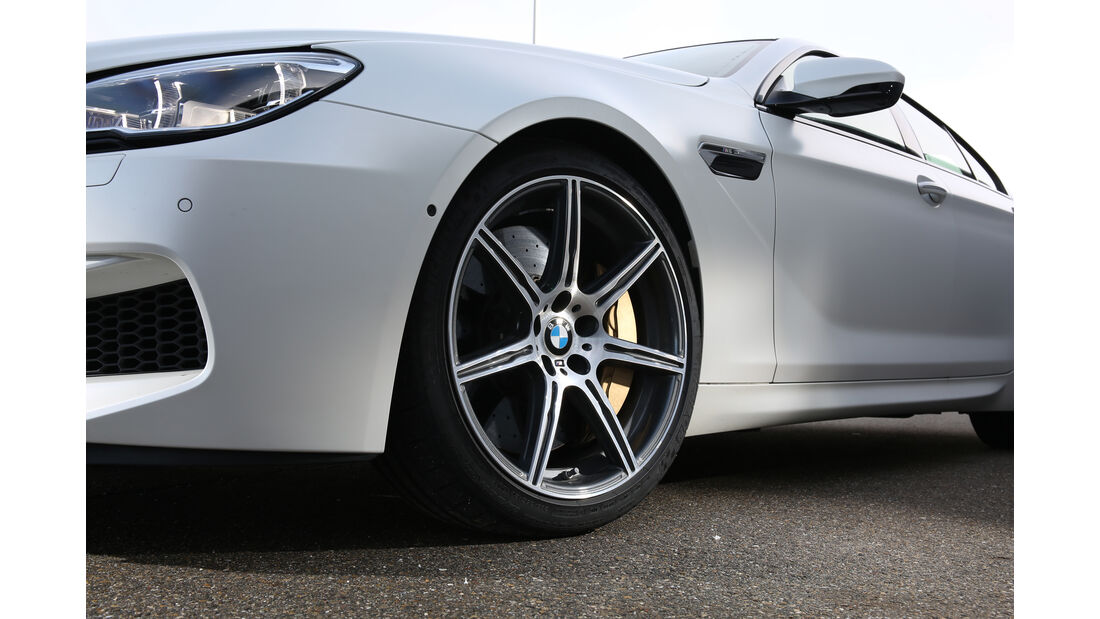 BMW M6 Gran Coupé, Rad, Felge
