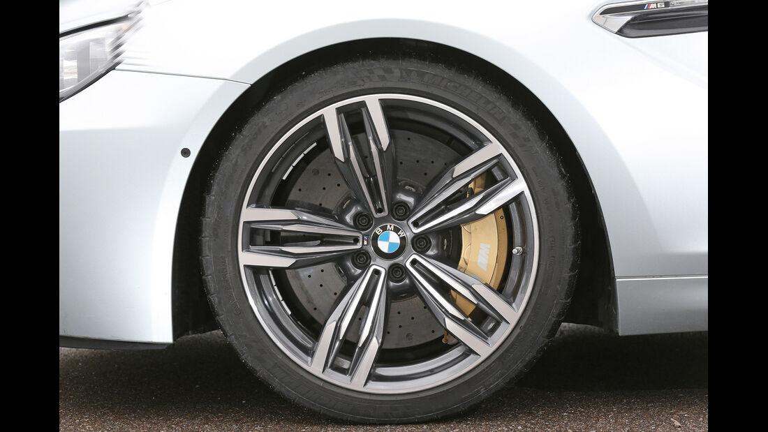 BMW M6 Gran Coupé, Rad, Felge, Bremse