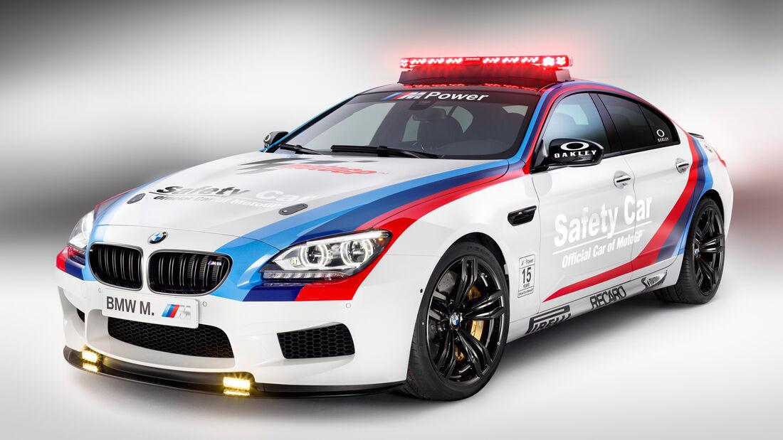 BMW M6 Gran Coupé Safety Car 2013