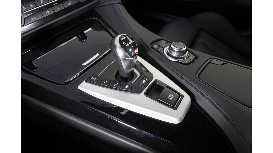 BMW M6 Gran Coupé, Schalthebel