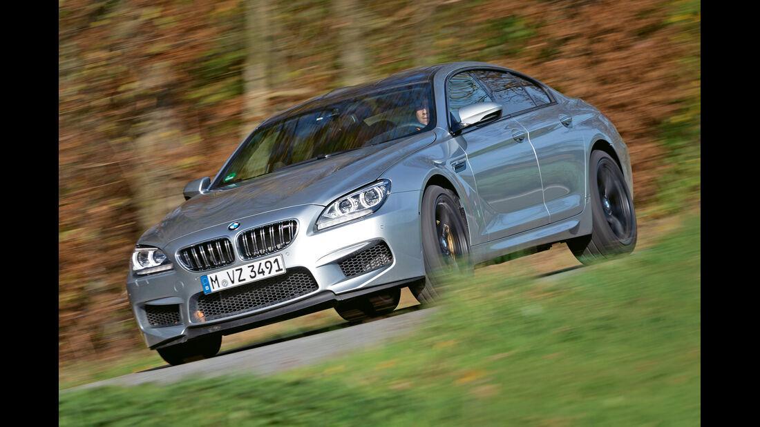 BMW M6 Gran Coupé, Seitenansicht