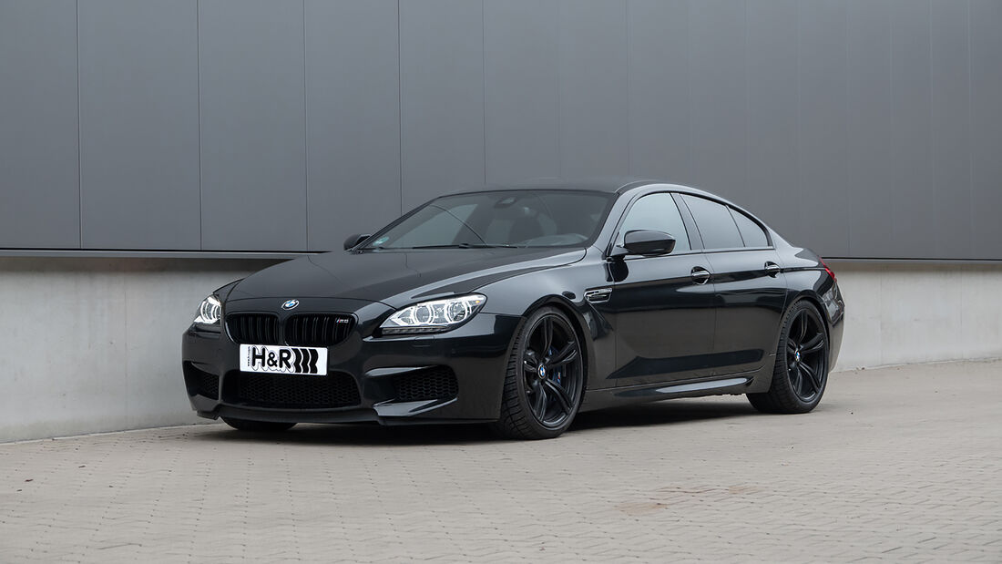 BMW M6 Grand Coupe, H&R
