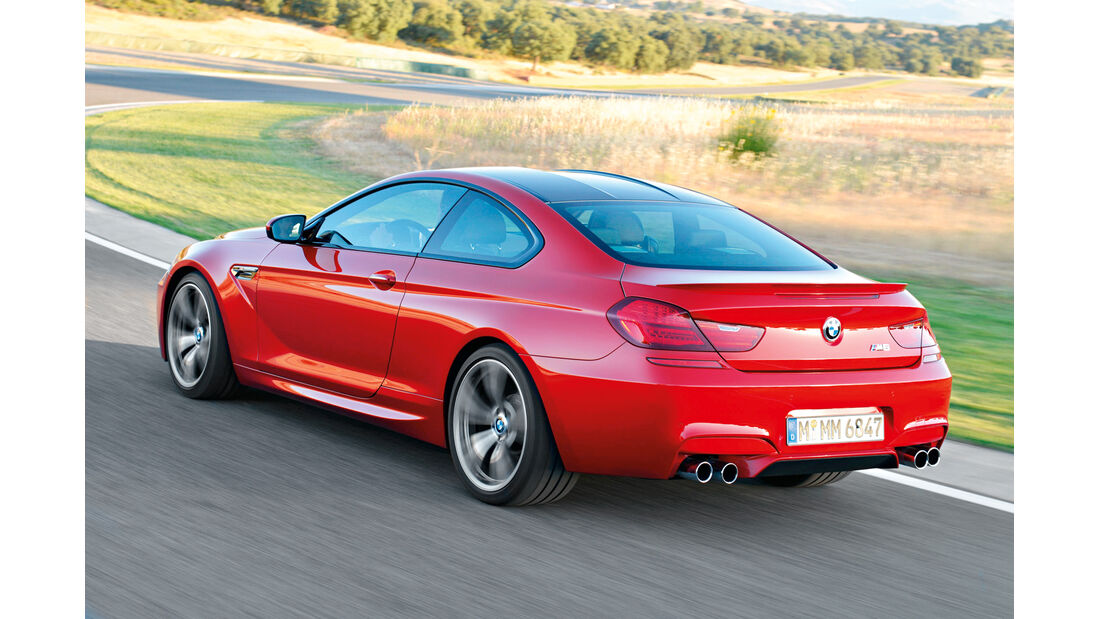 BMW M6, Heckansicht