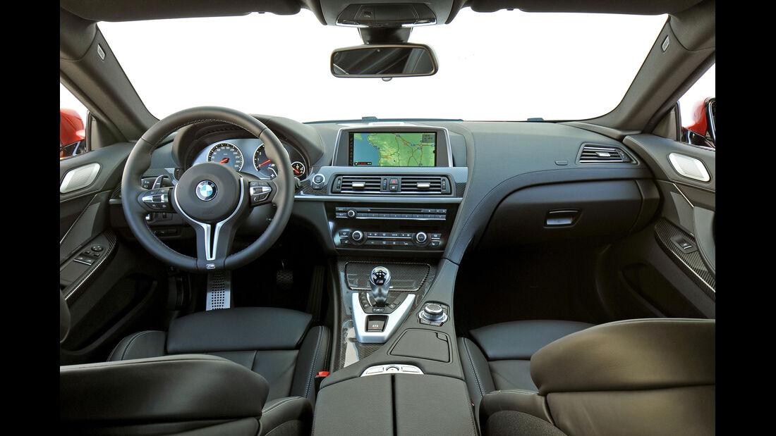 BMW M6, Lenkrad, Cockpit