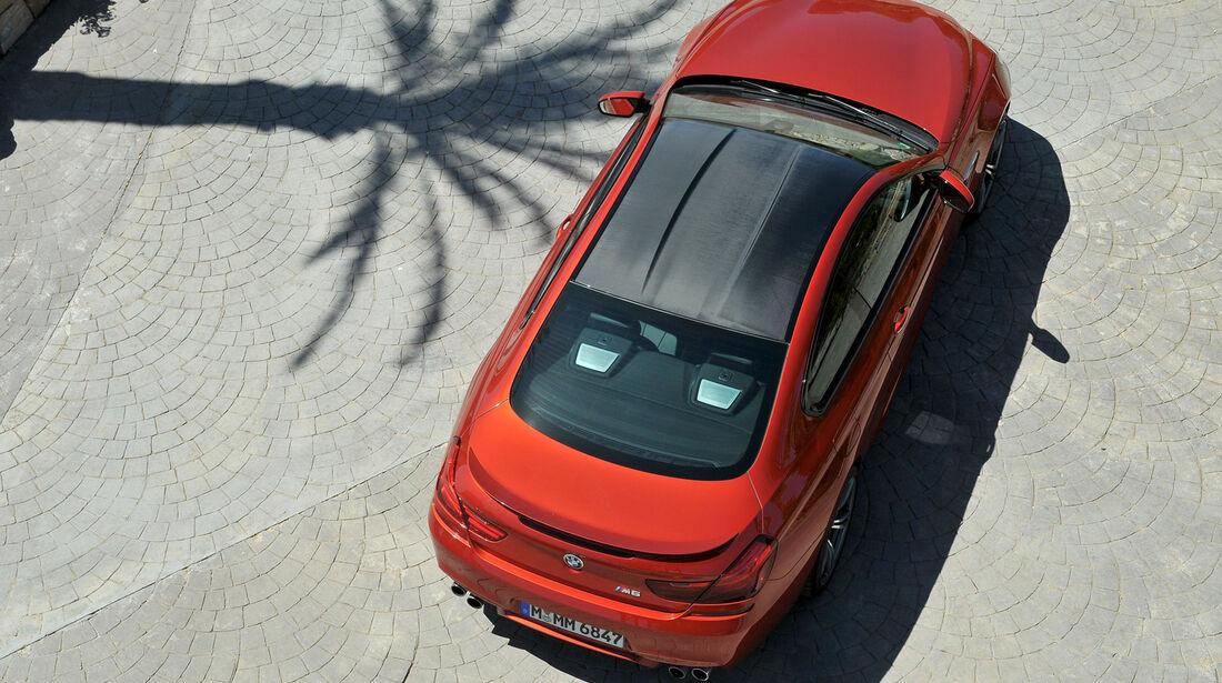 BMW M6, von oben