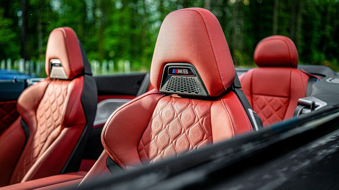 BMW M8 Competition Cabrio, Interieur