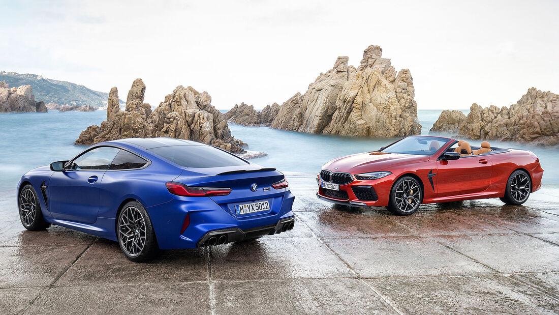 BMW M8 Competition Coupé und Cabrio