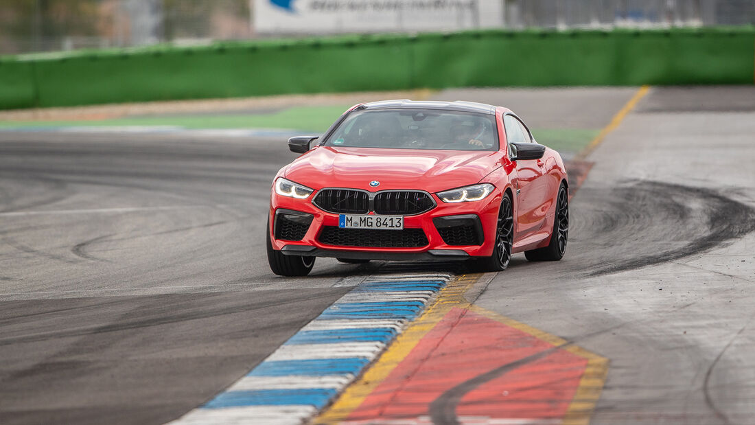 BMW M8 Competition, Hockenheimring