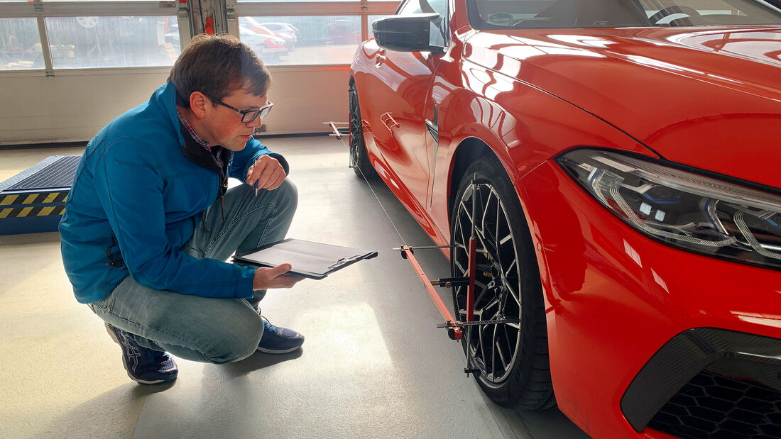 BMW M8 Competition, Leistungsmessung