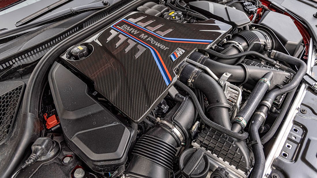 BMW M8 Competition, Motor