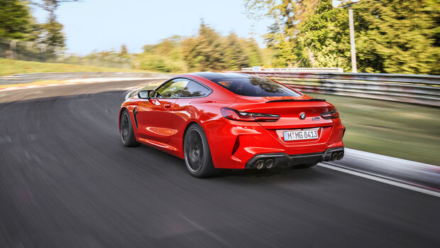 BMW M8 Competition, NŸrburgring