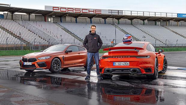 BMW M8 Competition, Porsche 911 Turbo, Exterieur