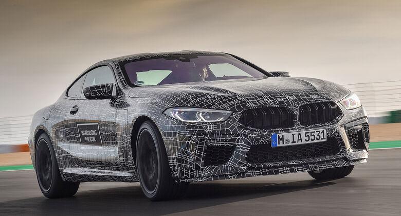 BMW M8 Erlkönig
