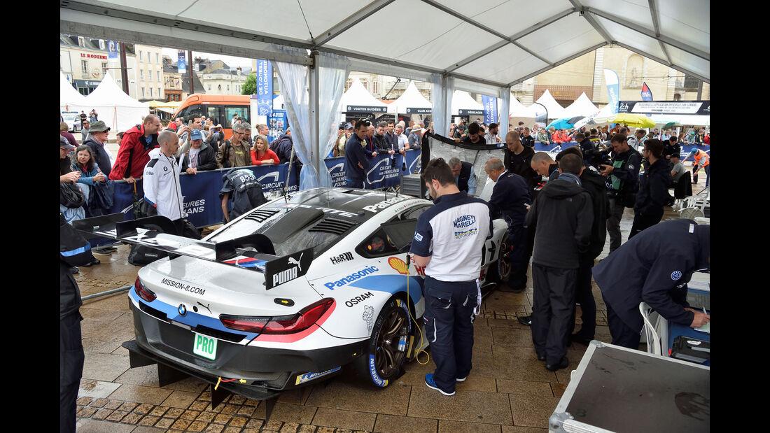 BMW M8 GTE - 24h Le Mans 2018 - Scrutineering