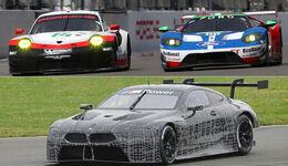 BMW M8 GTE - Porsche 911 RSR - Ford GT - LMGTE Pro