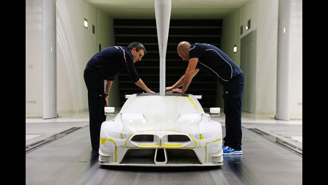 BMW M8 GTE - Rennwagen - Entwicklung