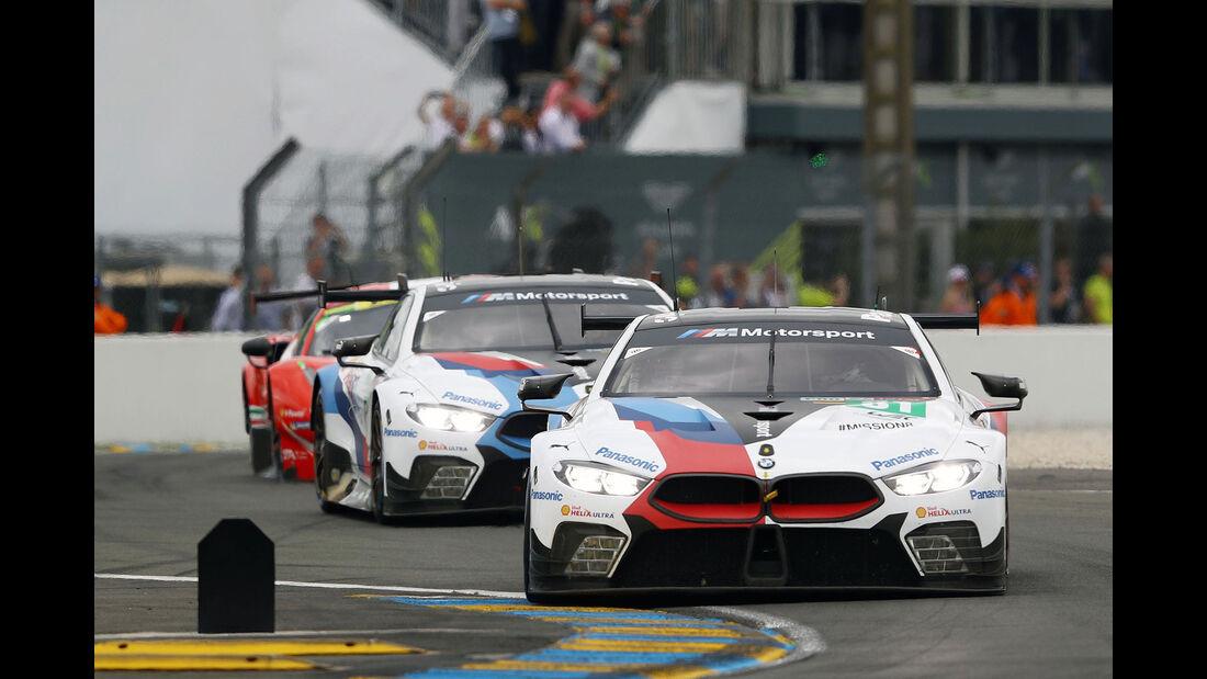 BMW M8 GTE - Startnummer #81 - 24h-Rennen Le Mans 2018 - Samstag - 16.6.2018