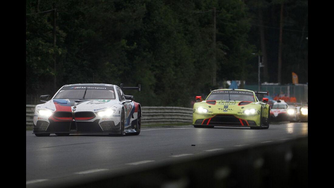 BMW M8 GTE - Startnummer #81 - 24h-Rennen Le Mans 2018 - Sonntag - 17.6.2018