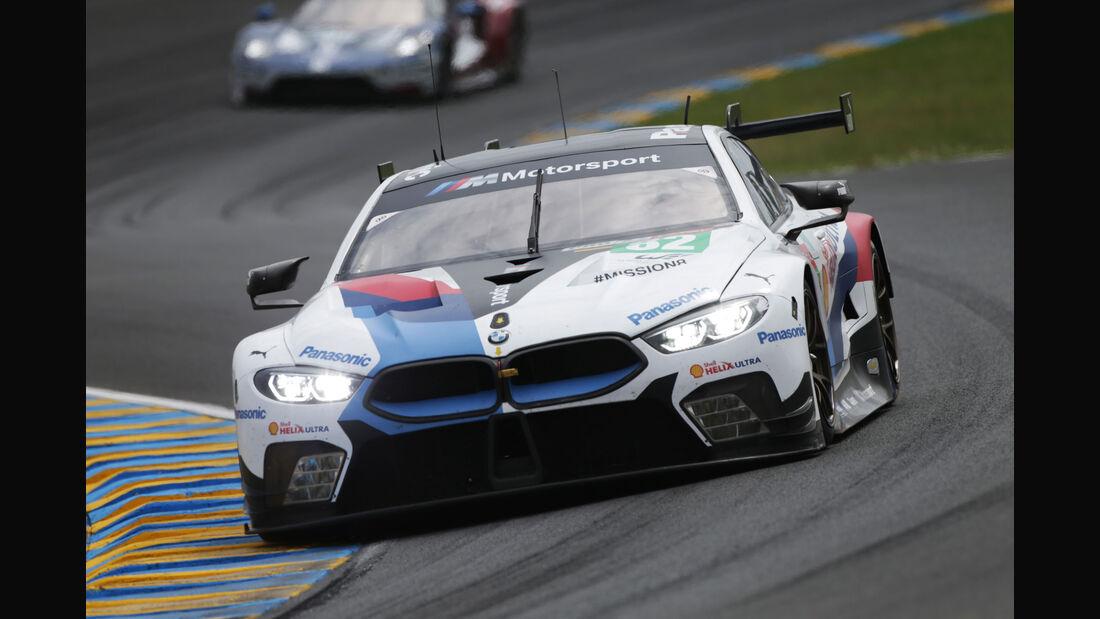 BMW M8 GTE - Startnummer #82 - 24h-Rennen Le Mans 2018 - Samstag - 16.6.2018