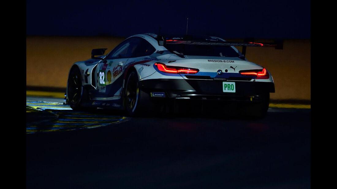BMW M8 GTE - Startnummer #82 - 24h-Rennen Le Mans 2018 - Sonntag - 17.6.2018