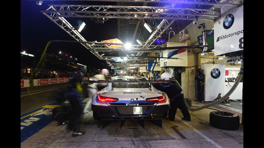 BMW M8 GTE - Startnummer #82 - 24h-Rennen Le Mans - Sonntag - 16.06.2019