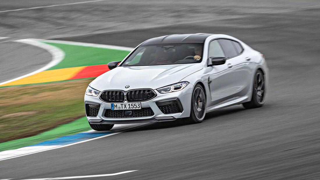 BMW M8 Gran Coupe, Exterieur
