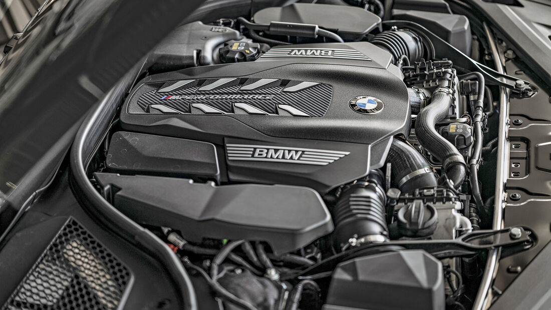 BMW M850i, Motor