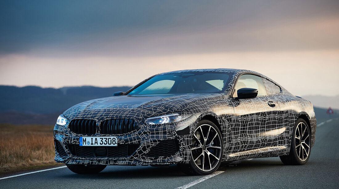 BMW M850i Sperrfrist 26. April, 0.00 Uhr