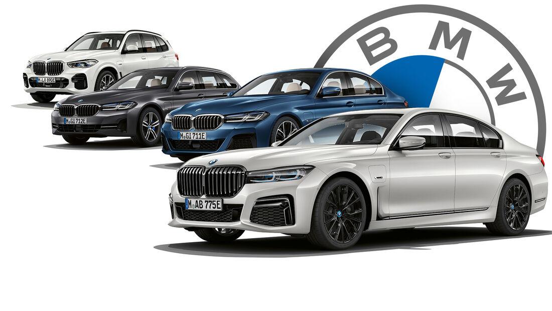 BMW Modellpflege 2021 2022