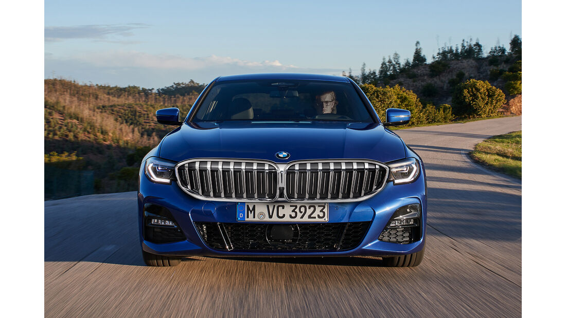 BMW Niere groß Retusche