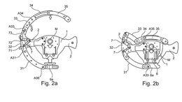 BMW Patent formveränderbares Lenkrad