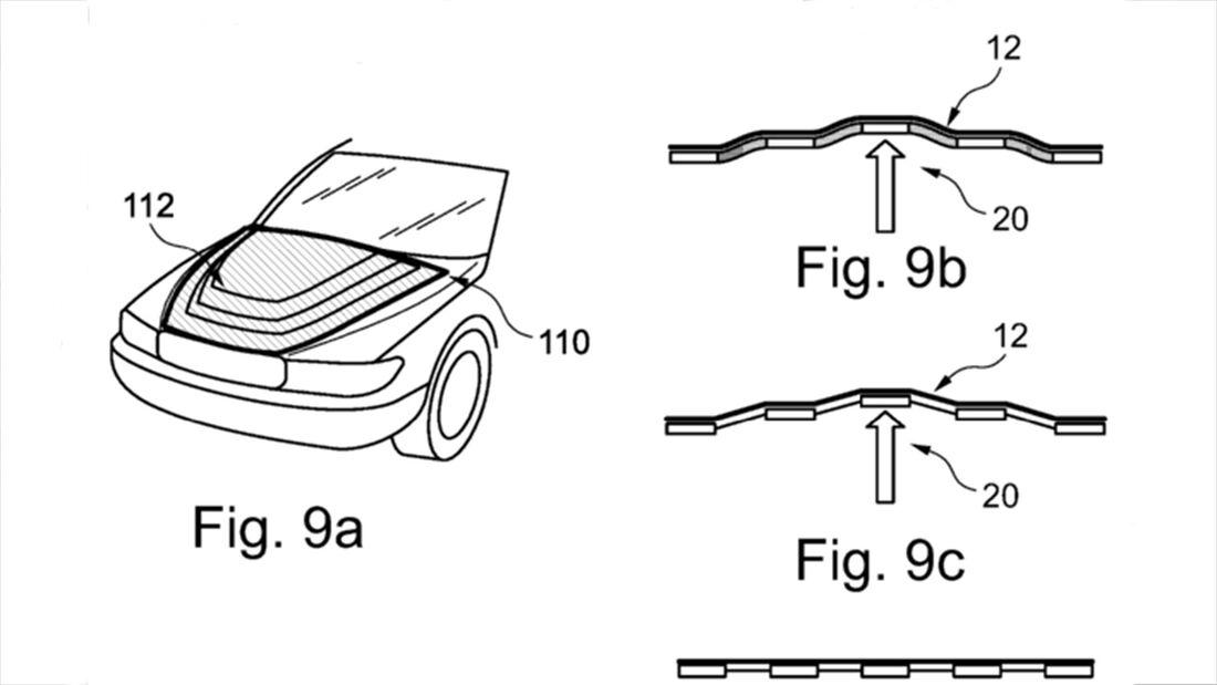 BMW Patent verformbare Karosserie