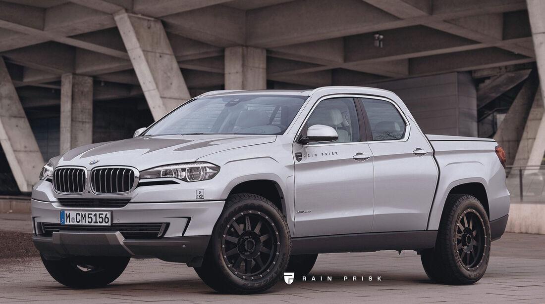 BMW Pick-up - Rain Prisk - Grafikkünstler - Design
