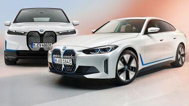 BMW Pläne Strategie 2021 i4 iX Aufmacher Collage