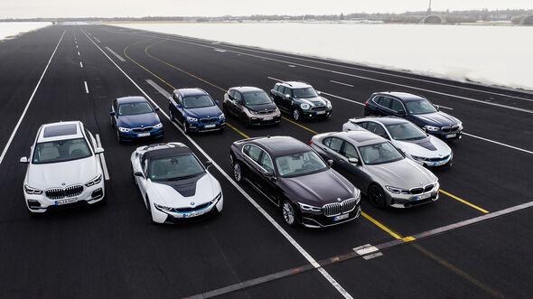 BMW Plug-in-Hybrid-Modelle 2019, BMW 330e, 745Le, X3 xDrive30e, X5 xDrive45e, 530e, 225xe Active Tourer