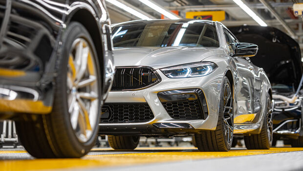 BMW Produktion Fertigung Band Fabrik