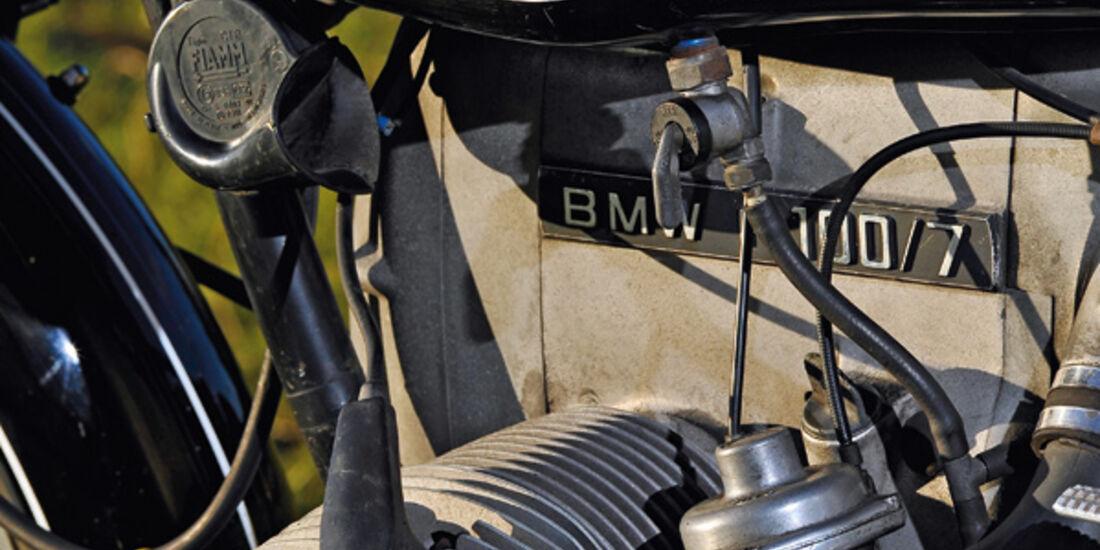 BMW R 100/7, Motor