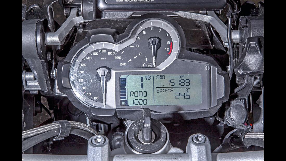 BMW R 1200 GS, Rundinstrumente