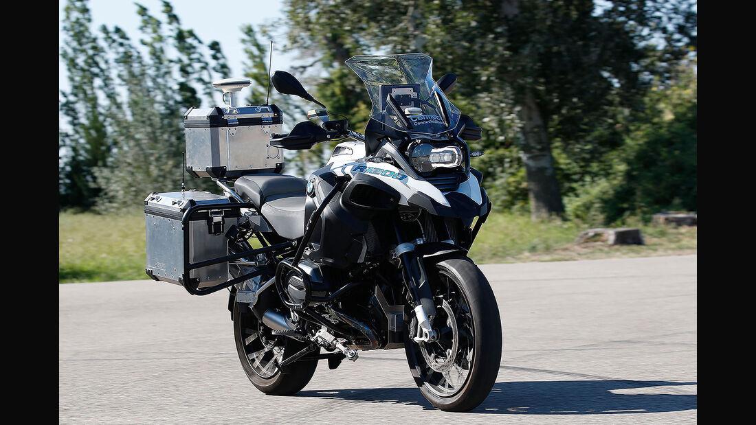 BMW R 1200 GS autonomes Fahren