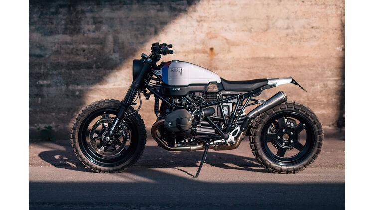 Jvb Moto Bmw R Ninet Scrambler Café Racer Vom Customizer Auto Motor Und Sport