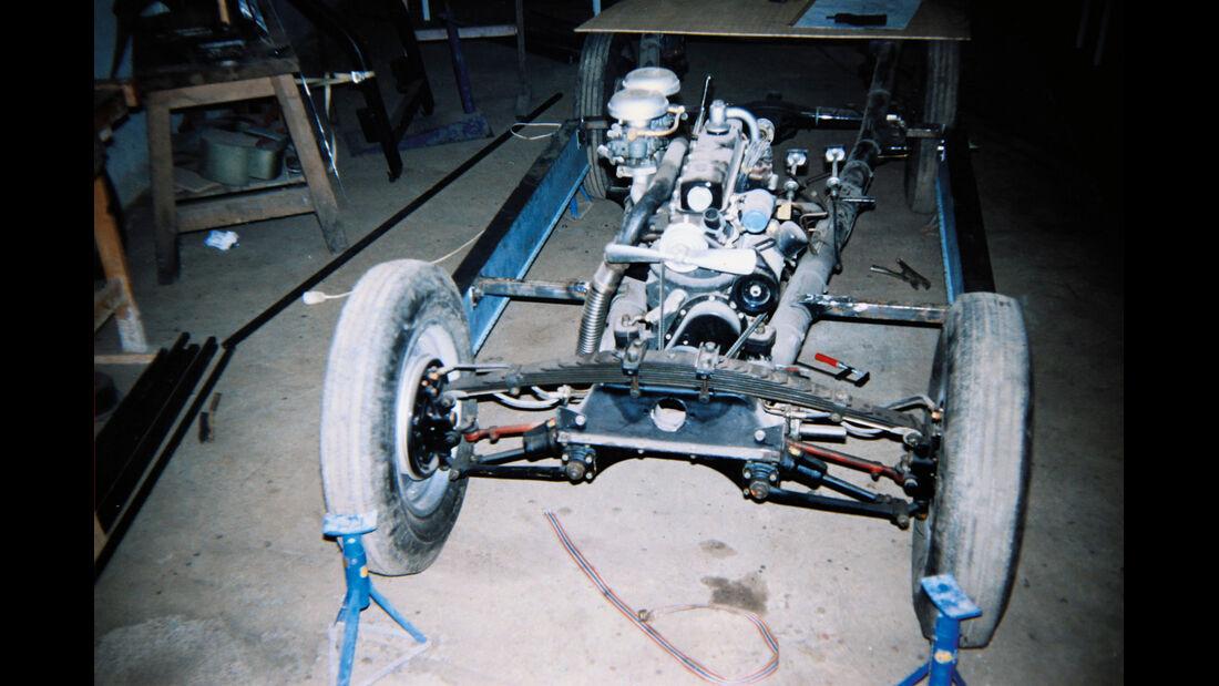 BMW Roadster mit Sonderkarosserie, Chassis